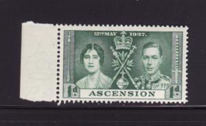 Ascension 37 MNH King George VI Coronation (B)