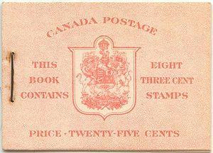 Canada - USC #BK34a - English