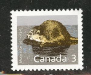 Canada Scott 1157 MNH** 3c Muskrat
