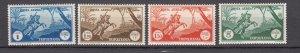 J27614 1931-2 tripolitania hv,s of set mh #c12-5 arab horsemen $64.00 + scv
