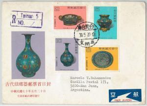 64711  -  CHINA  - POSTAL HISTORY -  FDC COVER 19670 - CERAMIC