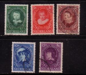 Netherlands Sc B286-0 1955 Child Welfare portraits stamps...