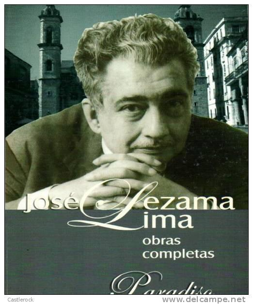 RT)BOOK PARADISO BY JOSE LEZAMA LIMA.- 550 PAGES EDITORIAL LETRAS CUBANAS