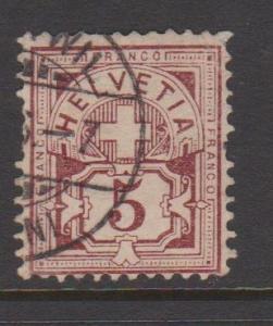 Switzerland Sc#71 Used
