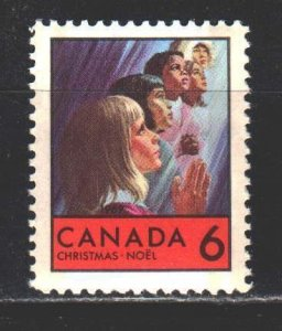 Canada. 1969. 445 from the series. Christmas. MNH.