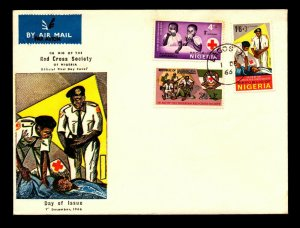 Nigeria 1966 Red Cross Series FDC - L9048