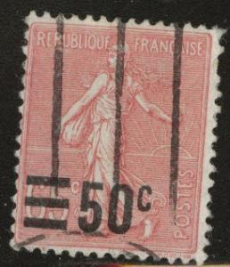 France Scott 230 Used overprint