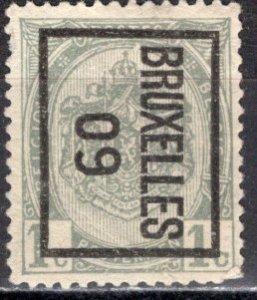 Belgium; 1893: Sc. # 60; O/Used French only Precancel Single Stamp