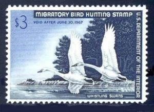 RW33 1966 Federal Duck (Stearns) F-VF OGNH-No Faults- EBAY LOW-OFFER?- EX
