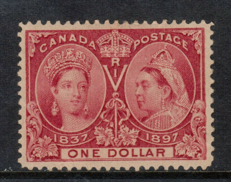 Canada #61 Extra Fine Mint Lightly Hinged **With Certificate**