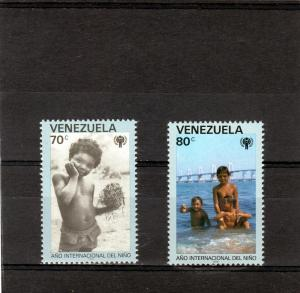 Venezuela MNH 1215-6 Year Of The Child