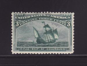 United States 232 MNH Sailing Ship, Santa Maria (A)