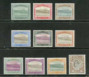 DOMINICA  SCOTT# 25/34, SG#27/36 EDWARD VII CPL  MINT  HINGED--SCOTT $296.00