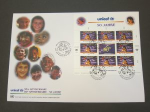 United Nations (Vienna) 1996 Sc 210-1 FDC
