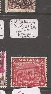 Malaya Japanese Oc Selangor SG J212a MOG (10cfp)