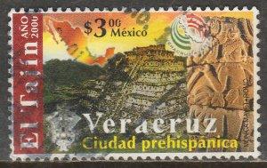 MEXICO 2220, EL TAJIN ARCHEOLOGICAL CITY. USED. VF. (712)
