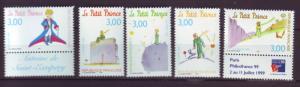 J20351  jlstamps 1998 france set mnh #2668a-e the little prince