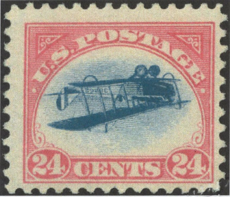 #C3a -GP Famous Inverted Plane, Almost VF, OG LH with 2019 PFC (GP2 1/29)