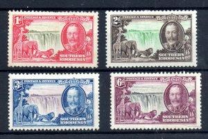 Southern Rhodesia 1935 Silver Jubilee unused set SG31-34 WS19096