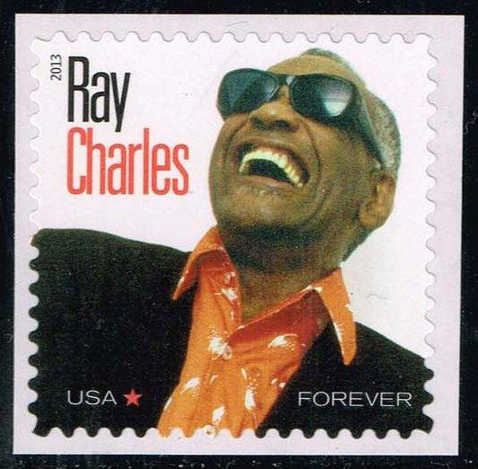 US #4807 Ray Charles; MNH (0.95)