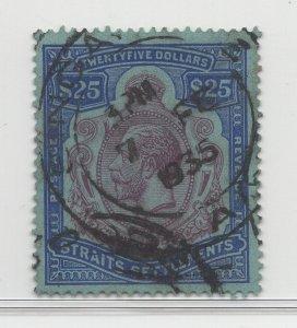 Malaya Straits Settlements - 1921-33 -  SG240b - $25 - used #746