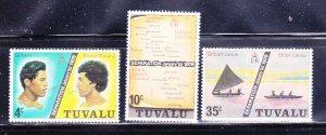 Tuvalu 16-18 Set MNH Various (C)