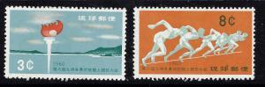 Ryukyu Is 72-73 MNH 1960 Sports