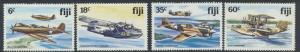 Fiji SG 624-627 SC# 454-457 MNH WWII Aircraft  1 fault see scan