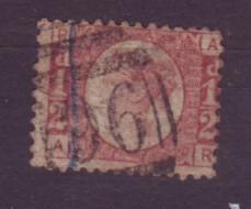 J19304 Jlstamps 1870 great britain used #58 plate #14