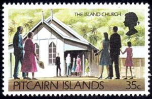 Pitcairn Islands # 170 mnh ~ 35¢ Island Church