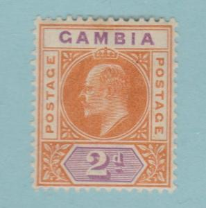 Gambia 43 Mint Hinged OG * - No Faults Very Fine!