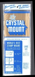 CRYSTAL MOUNT H.E. HARRIS LARGE SIZE 2¼  29 9 TUBES SEALED PACKAGE