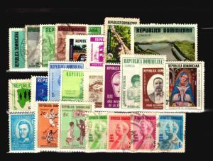 Dominican Republic 24 Mint & Used 1960/70s / Few Faults - C1074