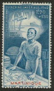Martinique CB3 Mint F-VF HR