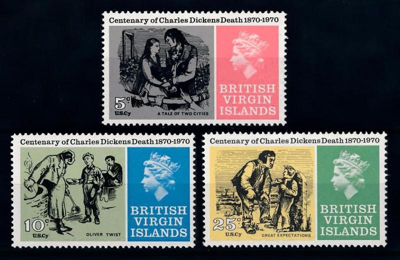[71276] British Virgin Islands 1970 Charles Dickens Oliver Twist  MNH