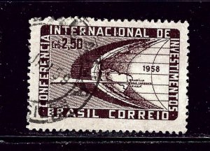 Brazil 873 Used 1958 issue