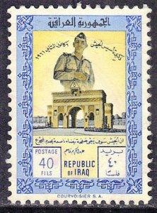 IRAQ SCOTT #272 USED 1961 GEN. KASSEM & ARCH  SEE SCAN