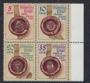Germany DDR Scott # 2425a, mint nh, se-tenant