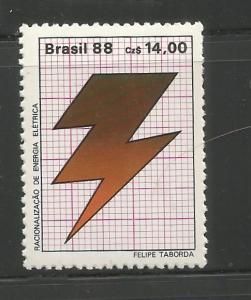 BRAZIL, 2128, MNH, LIGHTNING BOLT