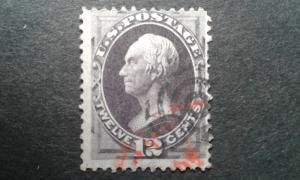 US #151 used short perf ~1811.1866