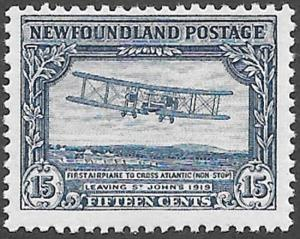 Newfoundland Scott Number 170 FVF NH