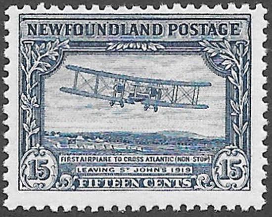 Newfoundland Scott Number 170 FVF NH