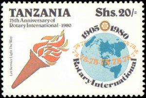 Tanzania #137-140, Complete Set(4), 1980, Rotary, Never Hinged