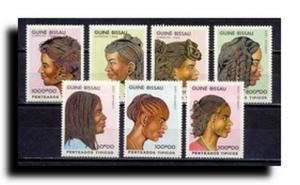Guinea-Bissau Scott 872-877