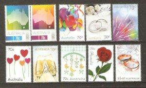 2014   AUSTRALIA  -  SG. 4145 / 4154  -  SPECIAL OCCASIONS  - UMM