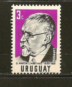 Uruguay 648 Dr. Martinez MNH