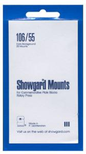 Mounts Showgard, 106/55 (20 Black) (00533B)