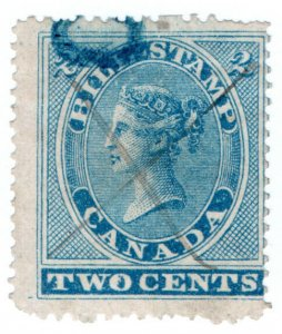 (I.B) Canada Revenue : Bill Stamp 2c