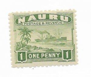 Nauru #18 MH - Stamp - CAT VALUE $4.00