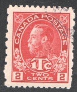 CANADA #MR5 VF, Used.   CV 30.00    ...   1150838